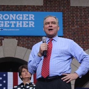 Tim Kaine kicks off fight for battleground state of Virginia in Hampton Roads