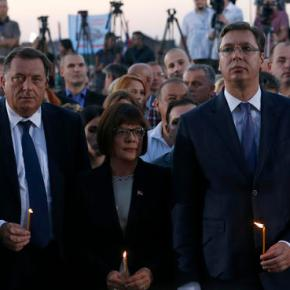 Serbia's leaders refuse to influence Bosnian Serbs