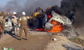 Syria strikes kill 25 as another Damascus suburbsurrenders