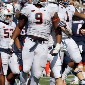 Virginia's Andrew Brown bright spot for struggling Cavaliers