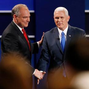 Debate Takeaways: Kaine challenges Pence to defendTrump