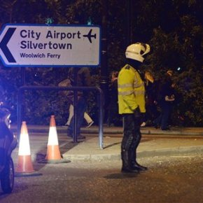 UK police arrest man in City Airport chemical incident