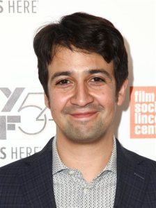 """Lin-Manuel Miranda attends the """"Manchester By The Sea"""" premiere during the 54th New York Film Festival at Alice Tully Hall on Saturday, Oct. 1, 2016, in New York. (Photo by Andy Kropa/Invision/AP)"""