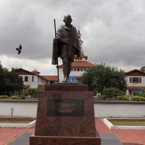 Ghana says it wants to remove Gandhi statue fromcampus