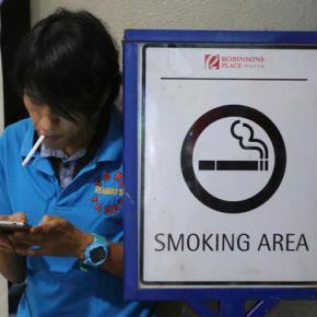 The Philippine president's next campaign: public smokingban