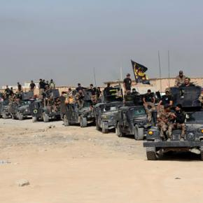 Iraqis push toward IS-held Mosul in long-awaited operation