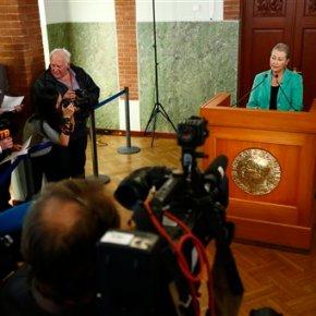 Colombian leader Juan Manuel Santos wins Nobel PeacePrize