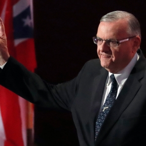 Critics call charge against Sheriff Joe Arpaio comeuppance