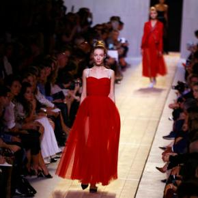 Stars line up for debut of Dior's first femaledesigner