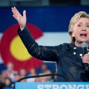 Clinton reaching past Trump, as he denies report ofassault