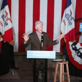 Why embattled Trump may keep hammering Bill Clinton misdeeds