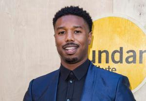 "FILE - In this Aug. 11, 2016 file photo, Michael B. Jordan arrives at the Sundance Night Before Next benefit in Los Angeles.  Jordan, Danny Glover and Michael K. Williams take on the issue of racial bias in police shootings with a simple message: ""Black is not a weapon,"" in a 4-minute, black-and-white Public Service Announcement. It features the actors up against a wall to a soundscape of news reports, TV commentators and 911 calls about police encountering black men. (Photo by Willy Sanjuan/Invision/AP, File)"