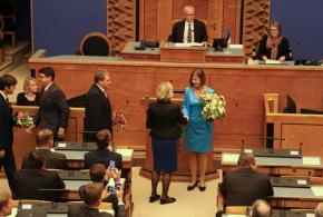 Estonia chooses EU accountant as first femalepresident