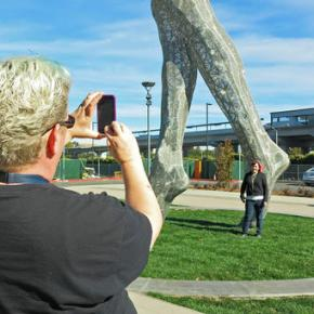 A giant nude statue in California is stirringcontroversy