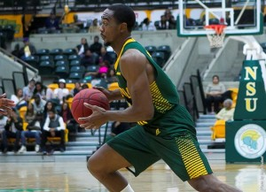 Former Norfolk State guard D'Shon Taylor of the Norfolk State men's basketball team will continue his career this upcoming season in Iraq.