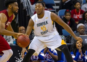 Butler was a three-time MEAC Defensive Player of the Week last year, a season in which he averaged 7.5 points, 6.6 rebounds and 2.2 blocks per game.