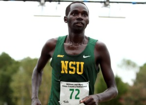 Norfolk State junior Ronald Korir was named the cross country co-Runner of the week