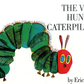 'The Very Hungry Caterpillar' is now dining in digital