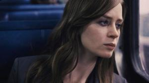 "FILE - In this file image, released by Universal Pictures, Emily Blunt appears in a scene from, ""The Girl on the Train."" Propelled by the popularity of Paula Hawkins' best-seller, the adaptation of ""The Girl on the Train"" led North American theaters in ticket sales with $24.7 million, according to studio estimates Sunday, Oct. 9, 2016. (DreamWorks Pictures/Universal Pictures via AP, File)"