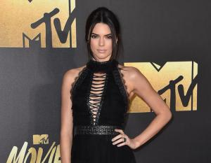 FILE - In this April 9, 2016 file photo, Kendall Jenner arrives at the MTV Movie Awards in Burbank, Calif. A Los Angeles judge on Thursday, Nov. 10, sentenced 26-year-old Shavaughn McKenzie to time served in a Los Angeles after he was convicted last month of trespassing at the Jenner's home earlier this year. (Photo by Jordan Strauss/Invision/AP, File)