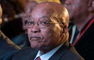 FILE -- In this Aug. 6, 2016 file photo South Africa president Jacob Zuma, attends the declaration announcement of the municipal elections in Pretoria, South Africa. A South African watchdog agency says it has found possible evidence of corruption at top levels of the government, adding to pressure on Zuma to resign because of a series of scandals. (AP Photo/Herman Verwey, File)