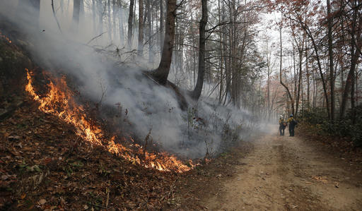 Dry Conditions Add Fuel To Southern Wildfires