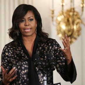 West Virginia town tries to move past Michelle Obama post