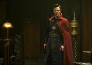 """This image released by Disney shows Benedict Cumberbatch in a scene from Marvel's """"Doctor Strange."""" ( Jay Maidment/Disney/Marvel via AP)"""