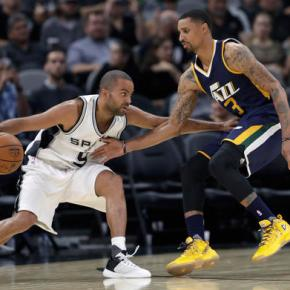 Jazz's 3-point shooting does in Spurs, 106-91