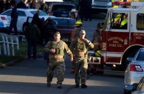 Gunman kills officer, self; woman found dead afterfight