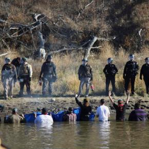 Pipeline company could face fines; protesterspepper-sprayed