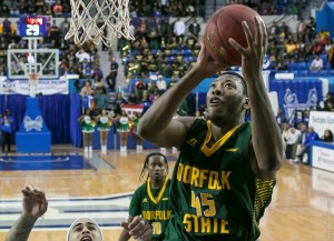 At the start of the game, Norfolk State had the early momentum before Bucknell took a 14-11 lead on an 8-2 run.