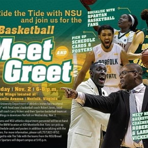NSU to ride the tide to basketball meet and greet read story