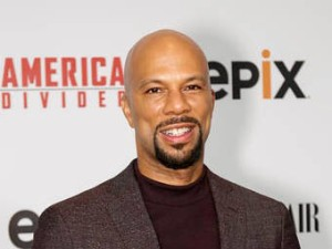 "FILE - This Sept. 20, 2016 file photo shows hip hop artist Common at the LA Premiere of ""America Divided"" in Westwood, Calif. Common's latest album dropped on Election Day and it became just the latest politically-charged, socially conscious record by black artists in recent months. (Photo by Willy Sanjuan/Invision/AP, File)"