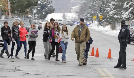 Utah Middle School Gun Fired