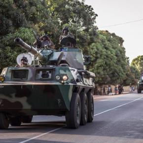 Gambia's defense chief supports newpresident