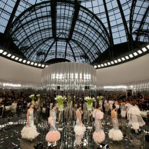 Lily-Rose Depp emerges as star of Deco-inspired Chanel show