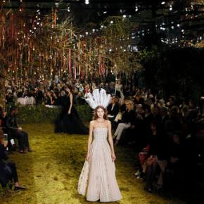 Dior designer debuts Paris couture as Dunst talks girl power