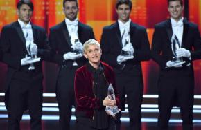 Ellen DeGeneres takes home 3 People's Choice Awards