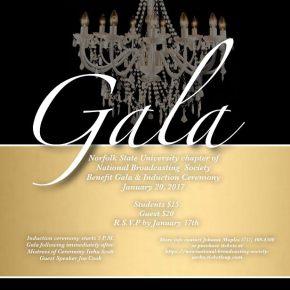National Broadcasting Society – AERho hosts Induction Ceremony and Gala Jan.20
