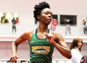 Bissah, John impress for Spartan Women's track atLiberty