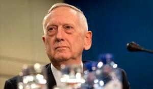 U.S. Secretary of Defense Jim Mattis waits for the start of the North Atlantic Council at NATO headquarters in Brussels on Wednesday, Feb. 15, 2017. For U.S. Defense Secretary Jim Mattis, the next few days will be a reassurance tour with a twist. He is expected to tell allies the U.S. is committed to NATO and is also hoping to secure bigger defense spending commitments. (AP Photo/Virginia Mayo)