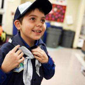 Boy Scouts welcome first transgendermember