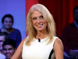 """FILE - This Dec. 1, 2016 file photo shows Kellyanne Conway prior to a forum at Harvard University's Kennedy School of Government in Cambridge, Mass. Media outlets are more aggressively fact-checking political statements. A separate fact check on Conway's false claim of a Bowling Green """"massacre"""" on Thursday was the most-read story on the APNews.com web site Friday. (AP Photo/Charles Krupa, File)"""