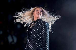 FILE - This Nov. 4, 2016 file photo shows Beyonce performing at a Get Out the Vote concert for Democratic presidential candidate Hillary Clinton in Cleveland. Beyonce announced on her Instagram account, Wednesday, Feb. 1, 2017, that she is expecting twins.  (AP Photo/Andrew Harnik, File)