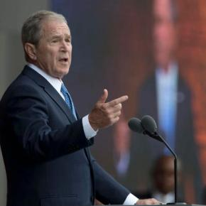 George W. Bush on Trump and Russia: 'We all needanswers'
