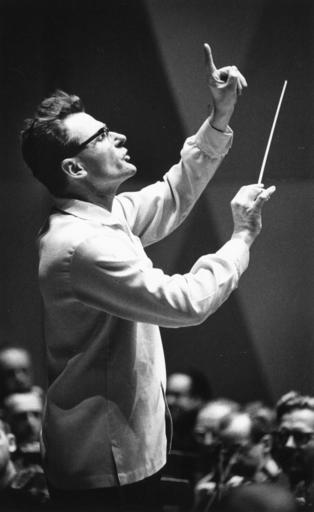 This undated photo provided by the Minnesota orchestra shows conductor Stanislaw Skrowaczewski. Former longtime Minnesota Orchestra music director Skrowaczewski has died at age 93.  Skrowaczeski's death was announced by his management company, Intermusica. The Minnesota Orchestra said he died Tuesday, Feb. 21, 2017, at a Minneapolis area hospital after suffering a second stroke earlier this month.  Skrowaczewski conducted major orchestras in England, Japan and other countries.(Minnesota Orchestra via AP)