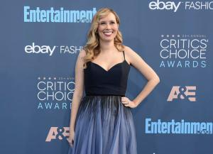 "FILE - This Dec. 11, 2016 file photo shows ""Hidden Figures"" screenwriter Allison Schroeder at the 22nd annual Critics' Choice Awards in Santa Monica, Calif. NASA has been part of Schroeder's life for as long as she can remember. Her grandfather had uprooted his family from Iowa to move to Florida to work on the Mercury prototypes, and she participated in a NASA mentorship program throughout high school. (Photo by Jordan Strauss/Invision/AP, File)"
