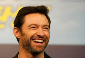Hugh Jackman shows off bandaged nose after cancer treatment