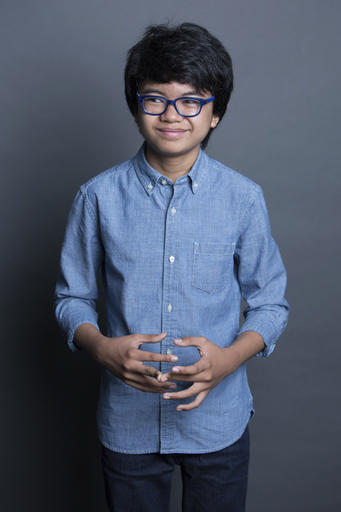 "FILE - In this Sept. 26, 2016 file photo, Joey Alexander poses for a portrait in New York. Alexander is nominated for a Grammy Award for best improvised jazz solo with ""Countdown"" at the Feb. 12 show, airing live on CBS from the Staples Center in Los Angeles. (Photo by Amy Sussman/Invision/AP, File)"